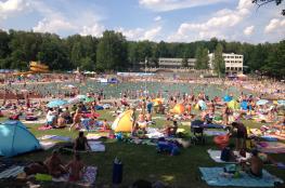 Gliwice Atrakcja Basen Kąpielisko Leśne